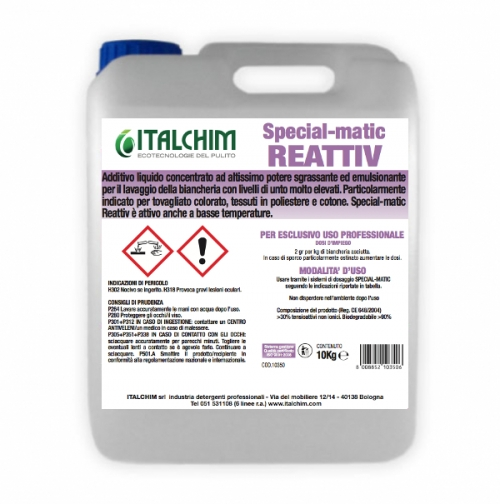 SPECIAL-MATIC REATTIV ADDITIVO ULTRACONCENTRATO
